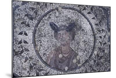 Spain, Andalusia, Carmona, Roman Mosaic in House of Planetarium, Detail--Mounted Giclee Print