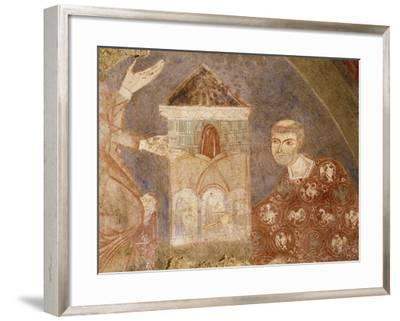 Dedication of the Temple to the Madonna--Framed Giclee Print
