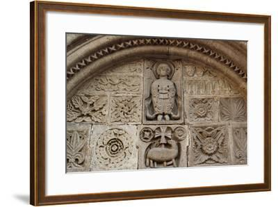 Agnus Dei, Relief from Tympanum of St-Michel Chapel--Framed Giclee Print