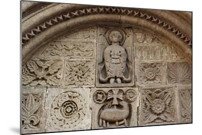 Agnus Dei, Relief from Tympanum of St-Michel Chapel--Mounted Giclee Print