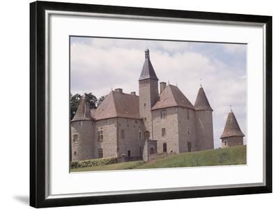Chateau De Beauvoir-Sur-Saint-Pourcain Besbre, Auvergne, France--Framed Giclee Print