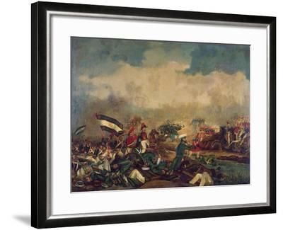 Battle of Arroyo Grande, December 6, 1842--Framed Giclee Print