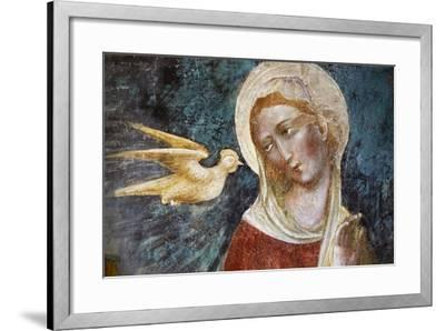 Dove of Holy Spirit and the Virgin--Framed Giclee Print