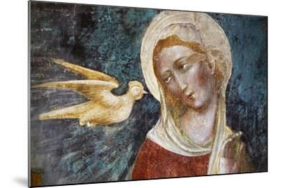Dove of Holy Spirit and the Virgin--Mounted Giclee Print
