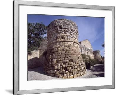 View of Ramparts of Chateau De Assas, 1759-1760--Framed Giclee Print