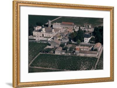 Aerial View of Chateau De Mouton-Rothschild, France--Framed Giclee Print