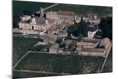 Aerial View of Chateau De Mouton-Rothschild, France--Mounted Giclee Print