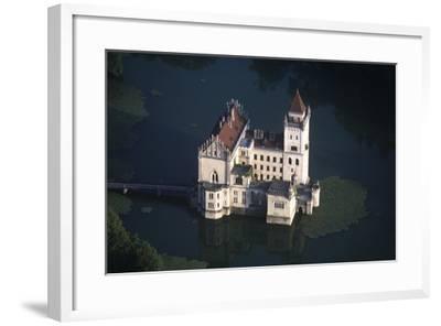 Austria, Salzburg, Anif Castle, 16th Century, Aerial View--Framed Giclee Print