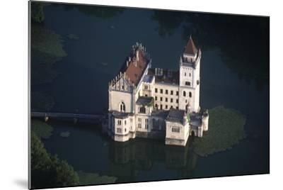 Austria, Salzburg, Anif Castle, 16th Century, Aerial View--Mounted Giclee Print
