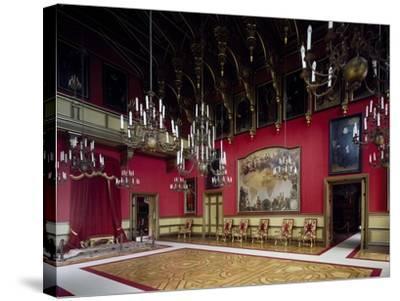 Throne Room, Miramare Castle, Trieste, Friuli-Venezia Giulia, Italy--Stretched Canvas Print