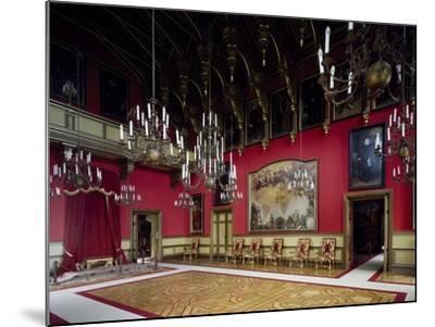 Throne Room, Miramare Castle, Trieste, Friuli-Venezia Giulia, Italy--Mounted Giclee Print