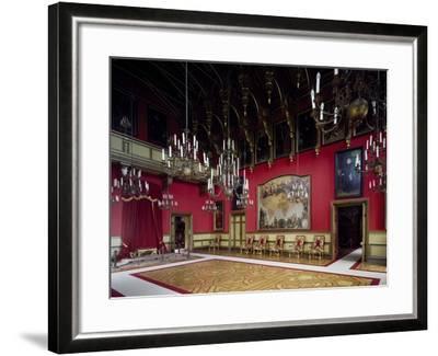 Throne Room, Miramare Castle, Trieste, Friuli-Venezia Giulia, Italy--Framed Giclee Print