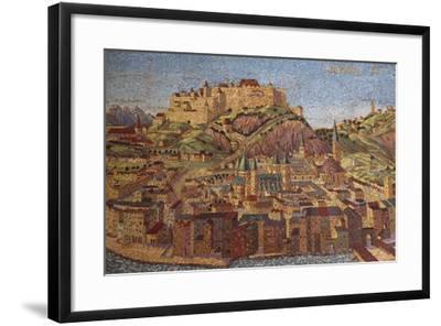 City of Salzburg, Mosaic, Austria--Framed Giclee Print