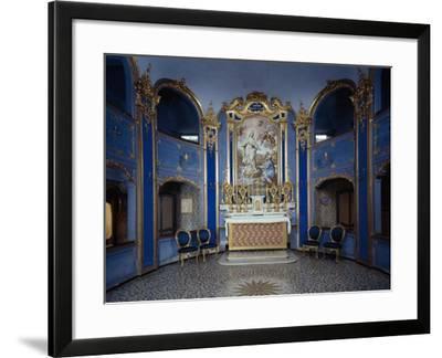 Italy, Santa Margherita Ligure, Villa Durazzo by Giovanni Agostino Ratti, 1736--Framed Giclee Print