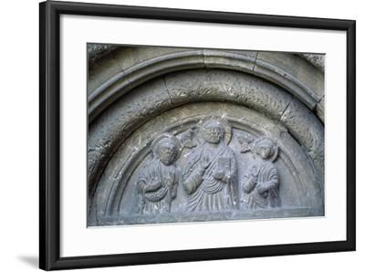 Bas-Reliefs from Roman-Catholic Cathedral in Citadel of Alba Iulia, Romania--Framed Giclee Print
