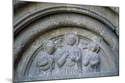 Bas-Reliefs from Roman-Catholic Cathedral in Citadel of Alba Iulia, Romania--Mounted Giclee Print