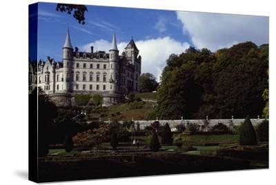 Dunrobin Castle, Scotland, United Kingdom--Stretched Canvas Print