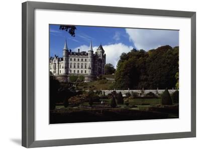Dunrobin Castle, Scotland, United Kingdom--Framed Giclee Print