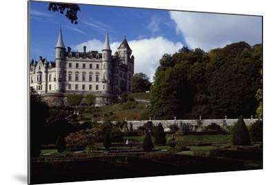 Dunrobin Castle, Scotland, United Kingdom--Mounted Giclee Print