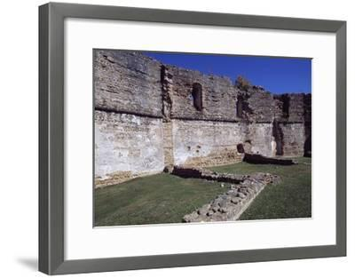 View of Chateau of Montaner, Aquitaine, France--Framed Giclee Print