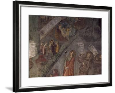 Tree of St Bonaventure, Detail of 14th Century Fresco--Framed Giclee Print