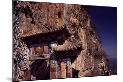 The Dragon Gate Near Kunming, Yunnan, China--Mounted Giclee Print