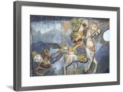 Painting on Wood from Ban Boran, Thailand--Framed Giclee Print