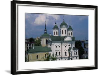 Orthodox Church in Historic Podol Neighborhood of Kiev, Ukraine--Framed Giclee Print