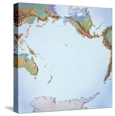 Tectonics Movements--Stretched Canvas Print