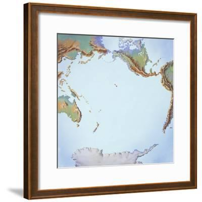 Tectonics Movements--Framed Giclee Print