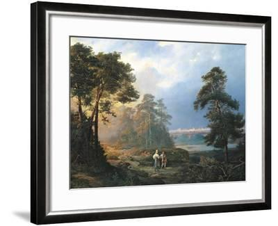 Russia, View of Moscow from the Sparrow Hills, 1856--Framed Giclee Print