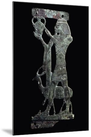 Figure of Tax, Syrian Prince Holding Up His Country's Tax, Bronze, New Kingdom--Mounted Giclee Print