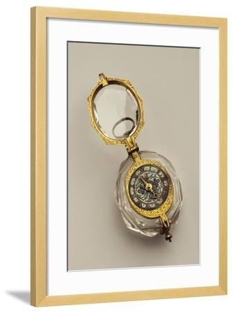 Open-Faced Pendant Watch, France--Framed Giclee Print