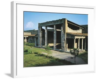 Italy, Campania, Oplonti, Archaeological Area of Torre Annunziata, Roman Villa Poppaea BC--Framed Giclee Print