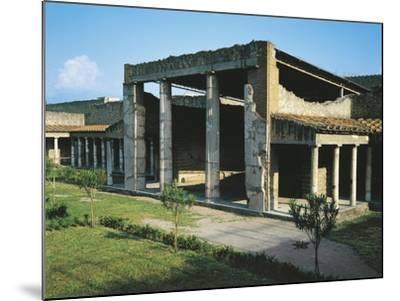 Italy, Campania, Oplonti, Archaeological Area of Torre Annunziata, Roman Villa Poppaea BC--Mounted Giclee Print