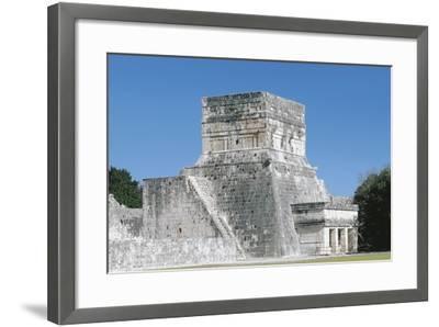 Mexico, Yucatan, Chichen Itza, Mayan Archeological Site, Great Ballcourt--Framed Giclee Print