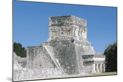 Mexico, Yucatan, Chichen Itza, Mayan Archeological Site, Great Ballcourt--Mounted Giclee Print