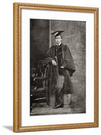 Albert Edward, Prince of Wales, 1841 – 1910, Future King Edward VII--Framed Giclee Print