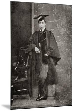 Albert Edward, Prince of Wales, 1841 – 1910, Future King Edward VII--Mounted Giclee Print