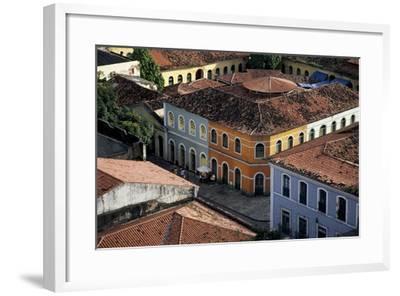 Brazil, Maranhao State, São Luís Island, São Luís, Buildings in Historical Centre--Framed Giclee Print