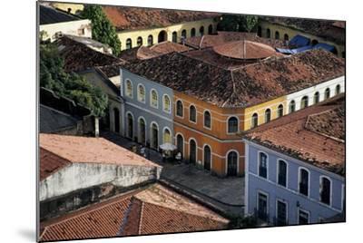 Brazil, Maranhao State, São Luís Island, São Luís, Buildings in Historical Centre--Mounted Giclee Print