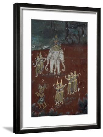 Cambodia, Phnom Penhs in Silver Pagoda--Framed Giclee Print