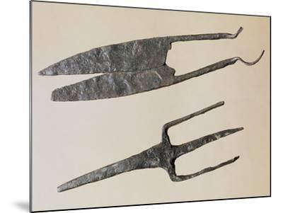 Scissors and Trident, Gallo-Roman Civilization--Mounted Giclee Print