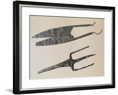 Scissors and Trident, Gallo-Roman Civilization--Framed Giclee Print
