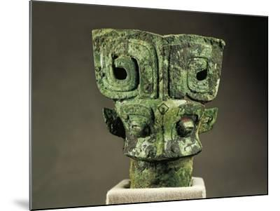 Cane Handle, Shang Dynasty, Bronze--Mounted Giclee Print