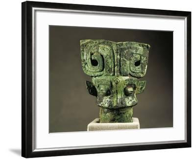 Cane Handle, Shang Dynasty, Bronze--Framed Giclee Print