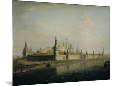 Russia, Moscow, View of the Kremlin from the Kamennyj Most, 1819--Mounted Giclee Print