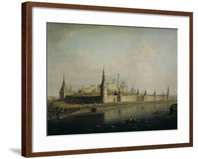 Russia, Moscow, View of the Kremlin from the Kamennyj Most, 1819--Framed Giclee Print