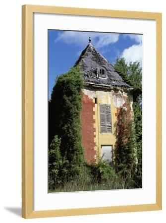 Castle of Coupvray Ruins, Ile-De-France, France, 16th-17th Century--Framed Giclee Print
