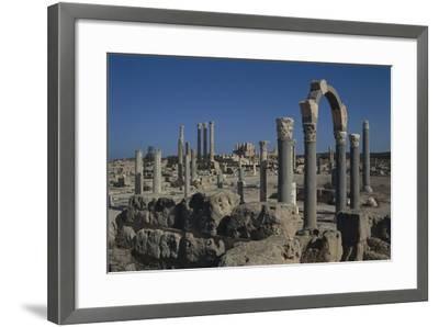 Libya, Tripolitania, Sabratha, Religious Curia Building--Framed Giclee Print